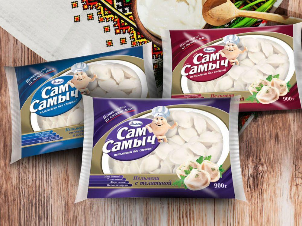 Дизайн упаковки Сам Самыч